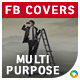 Multipurpose Facebook Covers - 12 Designs