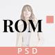 Leo Romance – eCommerce PSD Template