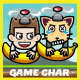 Banana & Six Copter Heroes Game Kit