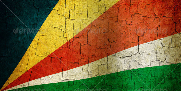 Grunge Seychelles flag - Stock Photo - Images