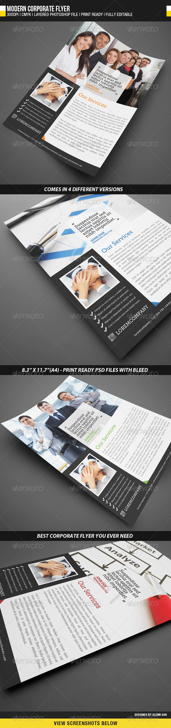 GraphicRiver Modern Corporate Flyer 1777132