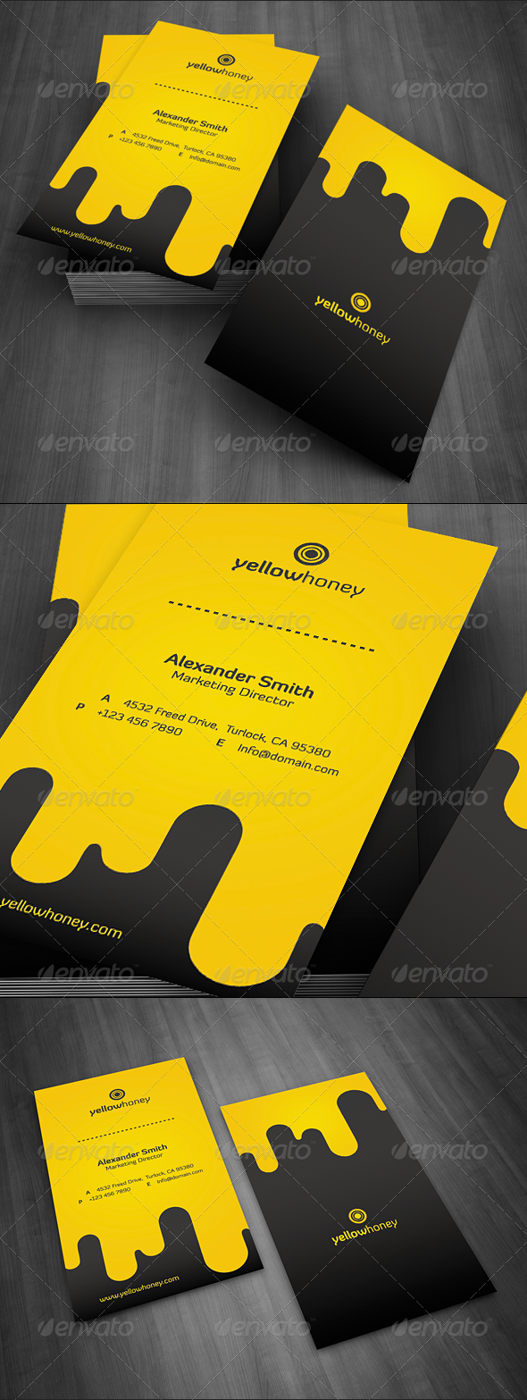 GraphicRiver Droppy Business Card 1177831