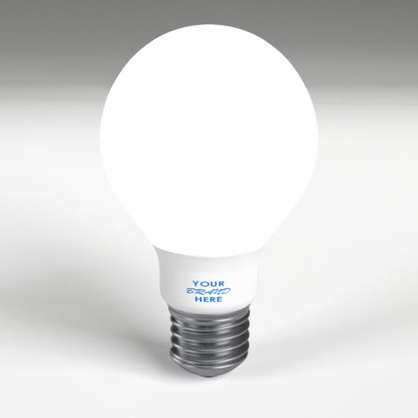 LED - Fluorescent light bulb lamp 1 - 3DOcean Item for Sale