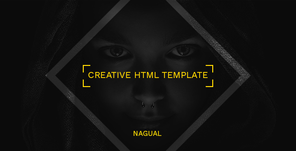 Nagual - Creative Personal/Agency Portfolio HTML Template