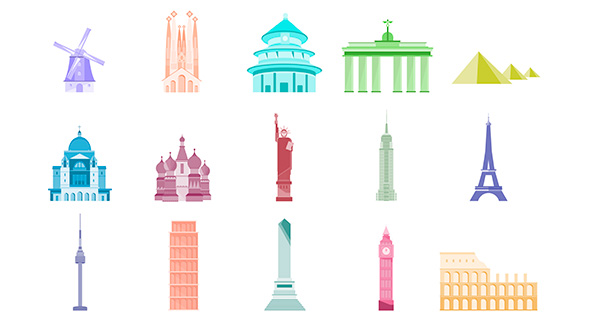 Animated Landmark Pack Download