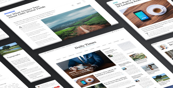 Download TIMES - Extraordinary Newspaper Magazine Theme nulled download