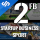 2 Facebook Cover Sport and Start Up Business