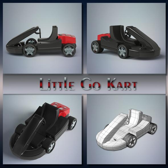Little Go Kart - 3DOcean Item for Sale