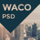 Waco — Multipurpose Portfolio & Blog | Store PSD Template