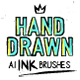 168 Illustrator Ink Brushes