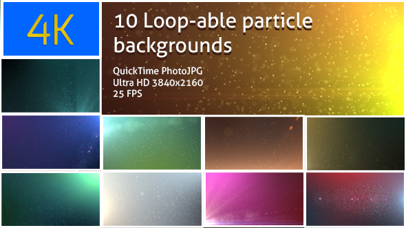 Download 4k Loopable Particle Backgrounds nulled download