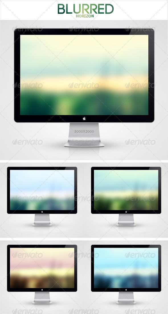 GraphicRiver Blurred Horizon Background 1778672