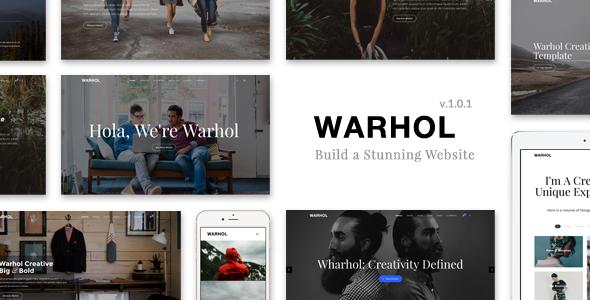 Warhol - Creative Multipurpose HTML Template