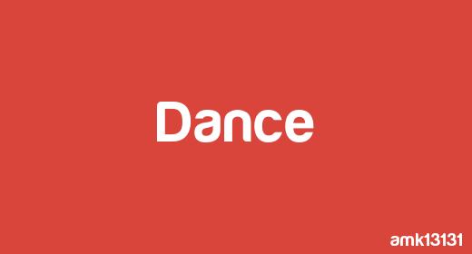 amk13131 - DANCE