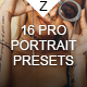 16 Pro Portrait + VSCO Presets