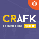 Ves Crafk Magento 2 Furniture Shop Template