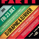Retro Typography Flyer / Poster - GraphicRiver Item for Sale