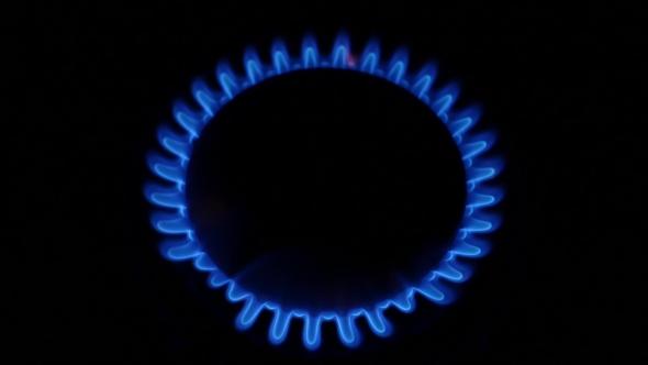 Download Natural Gas Stove Burner Blue Flame. nulled download