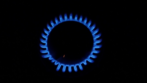 Download Red Sparks From The Gas Burner. nulled download
