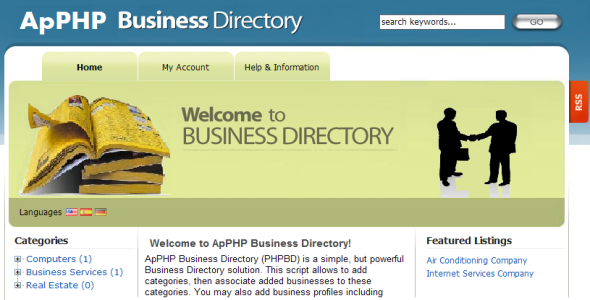 CodeCanyon ApPHP Business Directory script 397378
