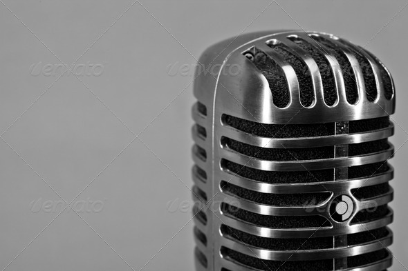 Stock Photo - PhotoDune Microphone 557832