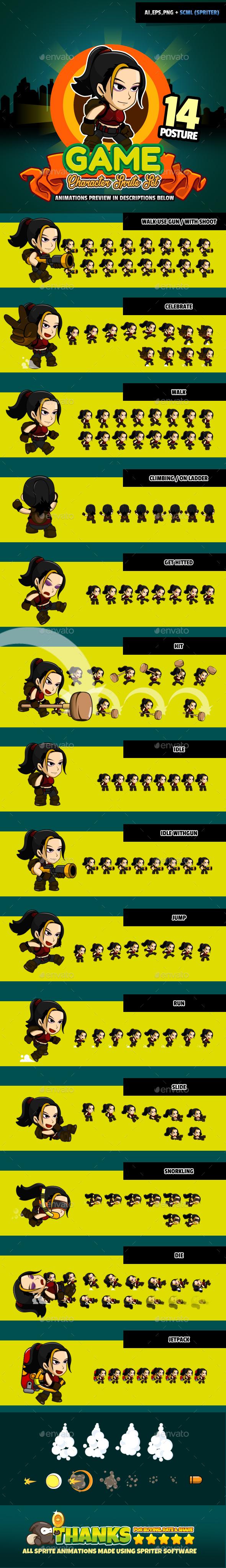 Character Set v04 (Sprites)