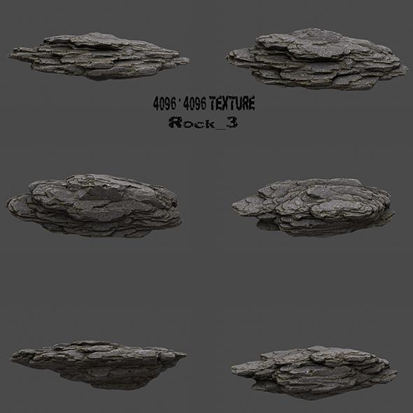 Rock_3 - 3DOcean Item for Sale