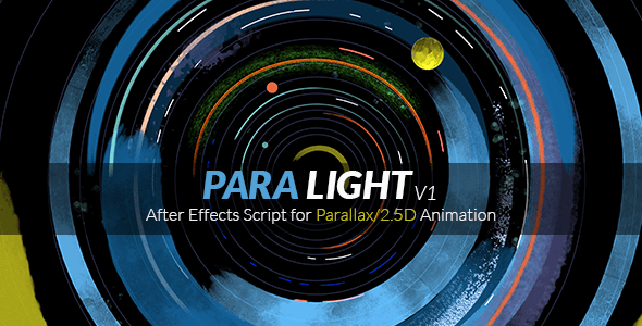 VideoHive ParaLight After Effects Script for Parallax 2.5D Animation 17947707