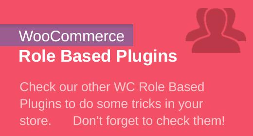 WC Role Based Plugins