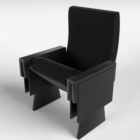 Cinema - Theater Armchair 1 - 3DOcean Item for Sale