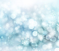 Abstract Winter background. Christmas abstract bokeh - PhotoDune Item for Sale