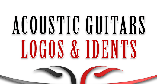 Logos & Idents - Acoustic Guitars