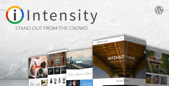 Intensity | Responsive Multi-Purpose Theme