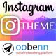INSTAGRAM Theme – OOBENN (Add-ons)