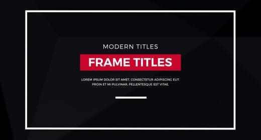 Frame Titles