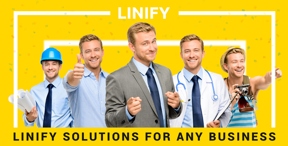Linify - One Man Business WordPress Theme
