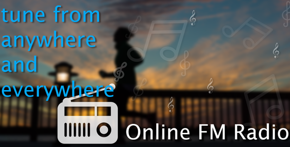 Online FM Radio with Admob