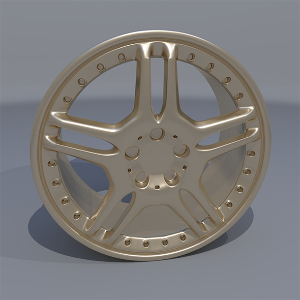 Car Rim AMG - 3DOcean Item for Sale