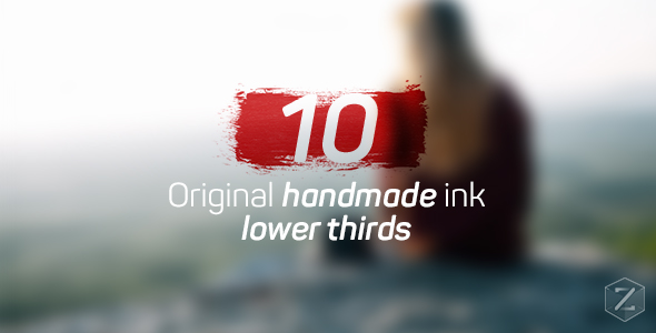 Download Ink Lower Thirds nulled download