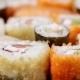 Fresh Japanese Sushi And Rolls