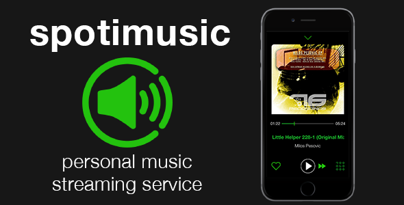 Spotimusic - personal streaming music service - CodeCanyon Item for Sale