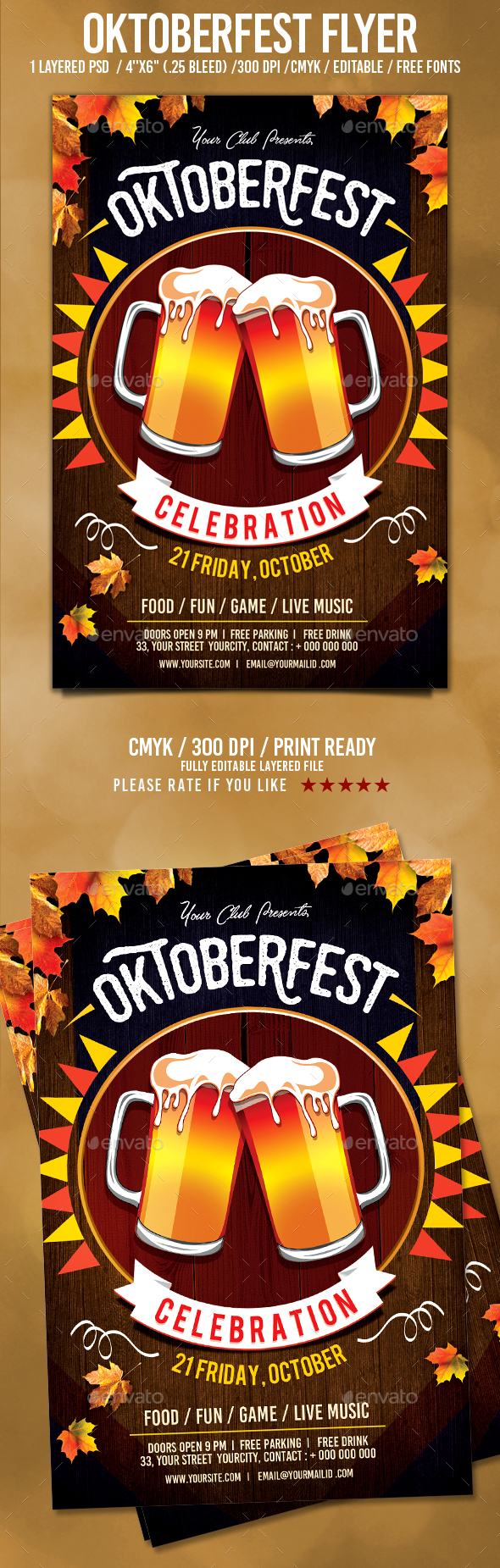 Oktoberfest Flyer