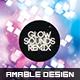 Glow Sounds Remix Flyer/Poster