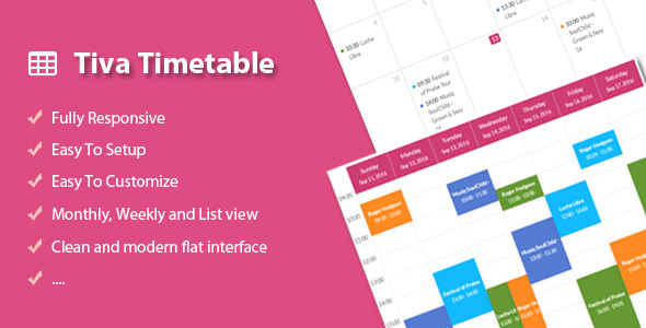Download Tiva Timetable nulled download