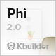 Phi - Responsive Email Template + Builder