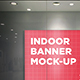 Indoor Banner Mock-Up