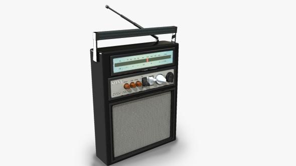 3DOcean Vintage radio 17966016