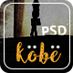 Kobe - One Page PSD Template