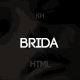 Brida - Multipurpose, Minimal Wedding Template