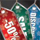 Christmas Vector Sale Tags Pack - GraphicRiver Item for Sale